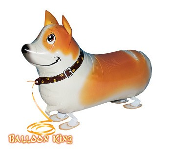 Corgi Walking Pet Balloons.