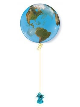 Planet Bubble Balloon. Bubble Balloon Delivery.