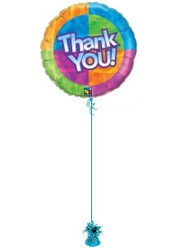 thank you birthday balloons