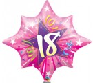 18th Hot Pink Birthday Balloon. 18th Birthday Balloons.