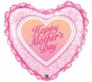 Mothers Day pillow heart. Helium Filled Mothers Day Balloons In A Box By Post.